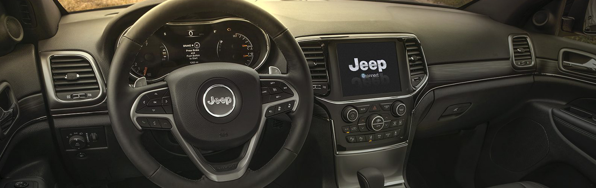 Jeep® Grand Cherokee - Technologie - Facilitez-vous la vie par un simple bouton