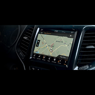 Uconnect 84 HD Live NAV