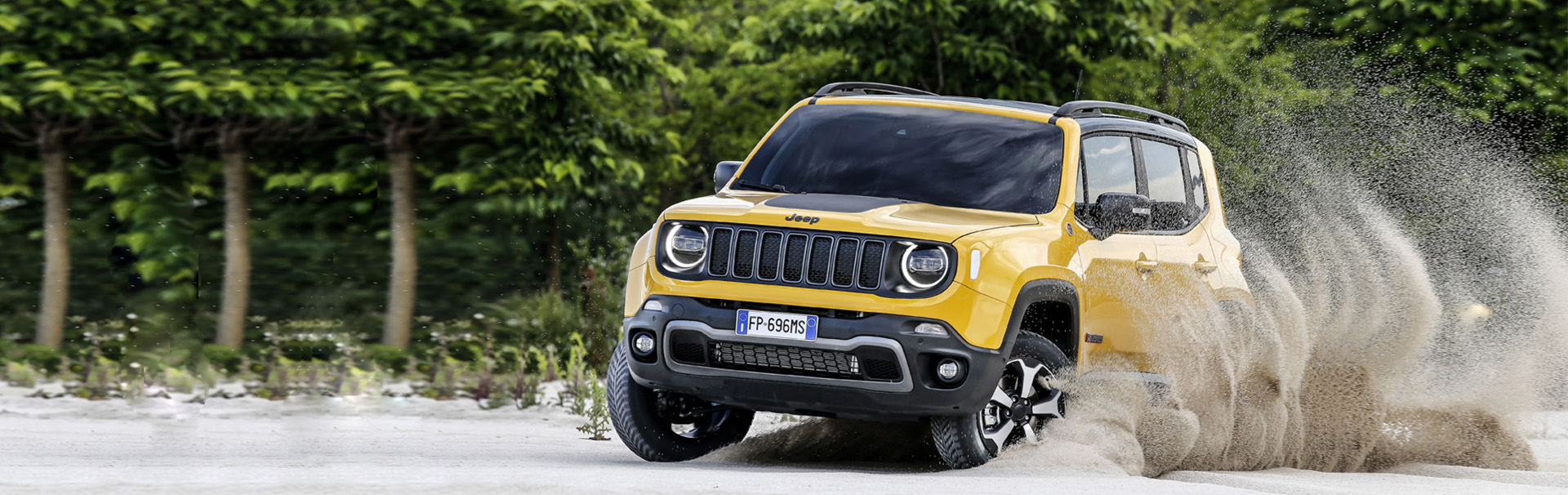Jeep® Renegade - Performance - 4x4 par excellence (tabs)