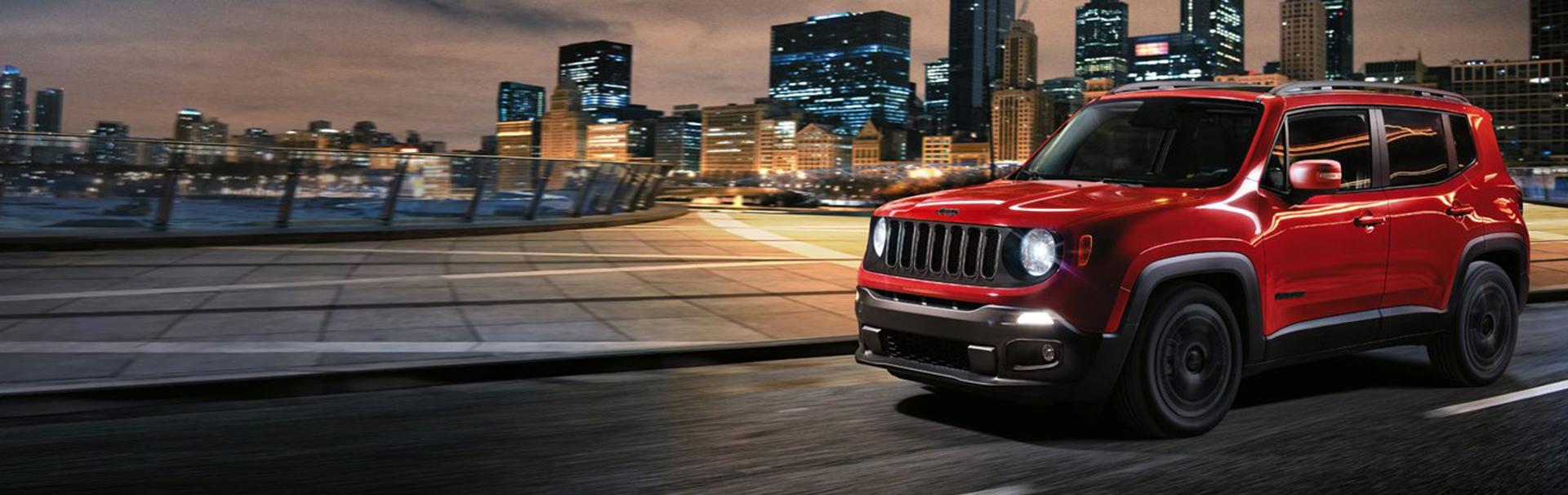 """Jeep Renegade élu """"SUV Urbain de l'Année 2019"""""""